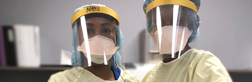 Face Shields For Assisted Living Communities