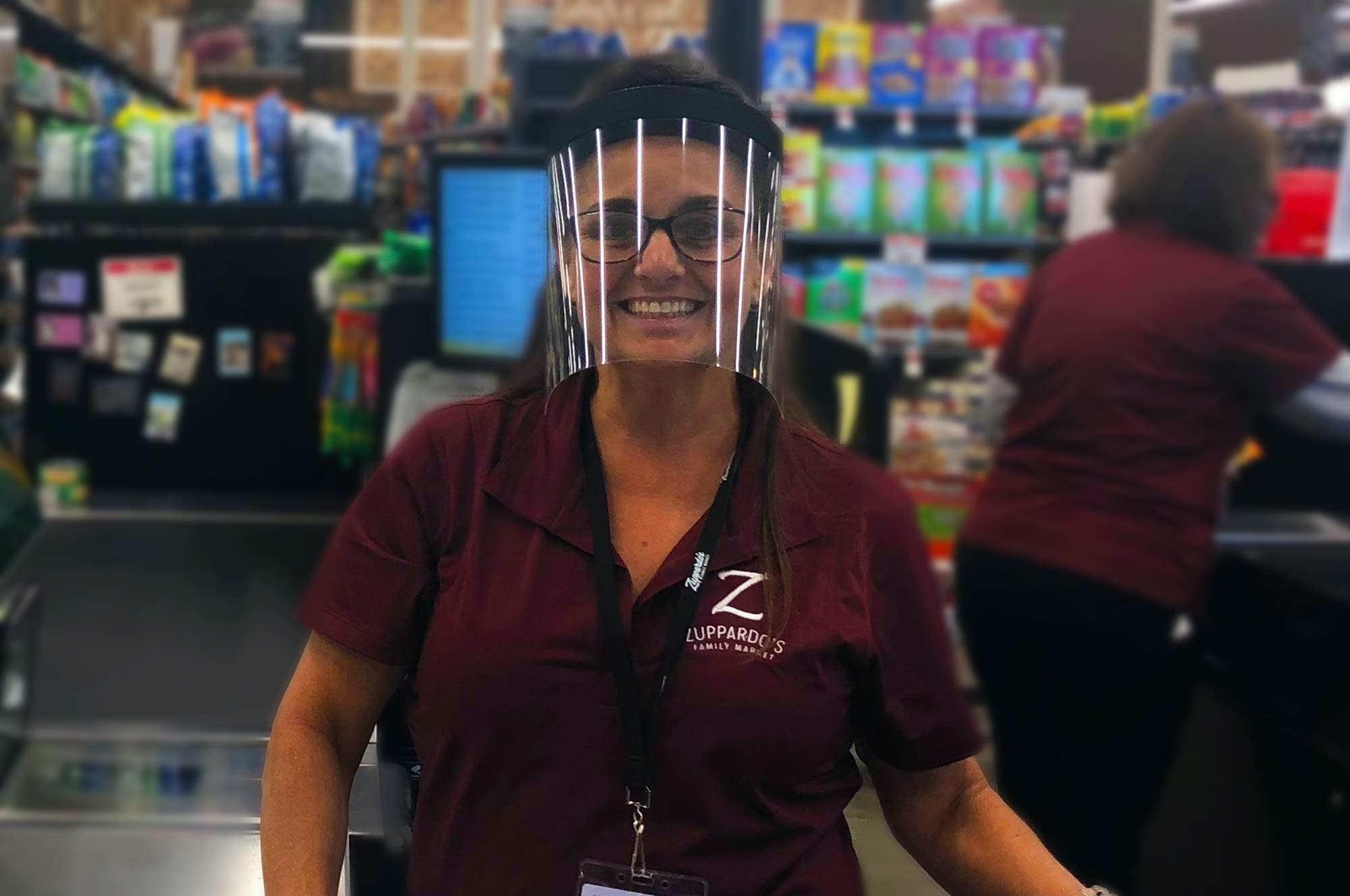 Grocery Stores Face Shield
